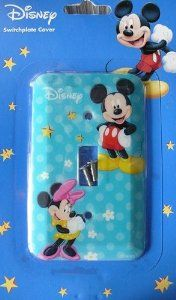 Mickey Minnie Mouse Light Switch Plate Cover!! Brand New by Disney. $6.94. Plates are durable and easy to clean. High Gloss Finish. Decorated your home. DESCRIPTION: ** NOW YOU CAN ADD YOUR PERSONAL TOUCH TO YOUR SWITCH PLATE BY PERSONALIZING IT AND REFLECTING YOUR AND YOUR FAMILY'S PERSONALITY. PERSONALIZE IT WITH YOUR FAVORITE DESIGN OR YOU CAN ALSO EMAIL US YOUR OWN, PETS, OR FAMILY PICTURE AND WE WILL PRINT IT ON THE SWITCH PLATE. ** ALL SWITCH PLATE COVERS AR...