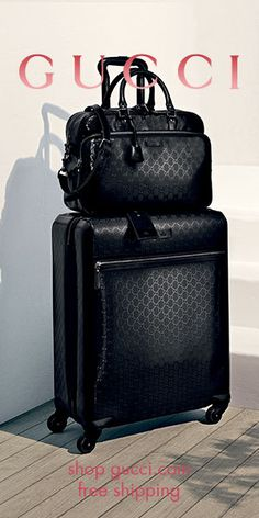 GUCCI® Four Wheel Trolley Suitcase