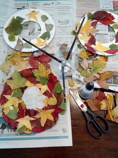 DYI: Fall crafts for kids - Podzimní tvoření s dětmi Fall Crafts For Kids, Craft Projects For Kids, Diy For Kids, Kids Crafts, Diy And Crafts, Dyi, Creative, Autumn Crafts Kids, Baby Crafts