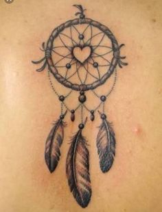 Heart Dream Catcher Tattoo Dream Catcher Tattoo On Upper Thi.-Heart Dream Catcher Tattoo Dream Catcher Tattoo On Upper Thigh Heart Dream Catcher Tattoo Dream Catcher Tattoo On Upper Thigh - Dove Tattoos, Arrow Tattoos, Back Tattoos, Feather Tattoos, New Tattoos, Body Art Tattoos, Sleeve Tattoos, Dreamcatcher Tattoos, Celtic Tattoos