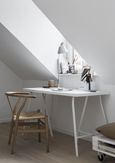 I like this lamp - Tolomeo from Artemide.