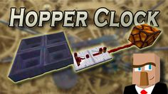 In this video, I'll show you just how easy it is to understand and build a simple hopper clock. As with all Minecraft clocks, this device is designed to repeatedly turn a redstone signal on and off.