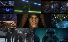 A Season 4 collage, again courtesy of me. I love the Clone Wars. Get ready for some more collages! (Actually, just one more for Season 5 cuz I'm too lazy to make one for Seasons 1 and 2.