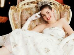 "Anne Hathaway – From ""Princess Diaries"""