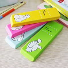 Cute Big Hero Pencil Rubber Eraser New Baymax For … – Sport Ideas Stationary Supplies, Stationary School, Cute Stationary, Cute Pencil Case, Kids Office, Cute Girl Drawing, Cute School Supplies, School Items, Pencil And Paper