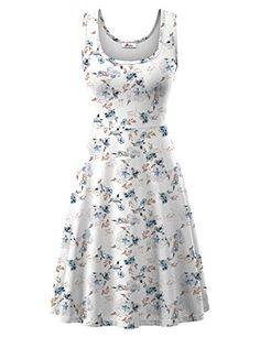 Sun Dresses, Flower Dresses, Fall Dresses, Summer Dresses, Summer Vacation Outfits, Dress Brands, Fashion Brands, Rv, Scoop Neck