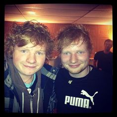 Photo of Ed Sheeran & his Brother Matthew Sheeran