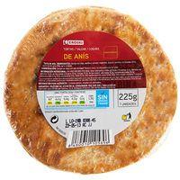 Torta de anís EROSKI, 7 unid., paquete 225 g