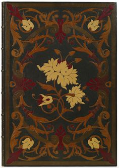 'Book of Ruth'  Morocco leather  Bound by Michel Marius, 1880