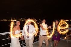 fun with sparklers, wedding sparklers, long exposure photography