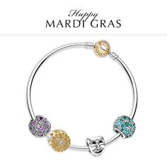 It's time to dress in purple, gold and green to celebrate Mardi Gras. Have a happy Tuesday!   #TharooCoOrlando #PandoraRetailer #ValentinesDay  Available now @ Tharoo & Co. Diamonds, Fine Jewelry, Watches & Eyewear  407.264.0200