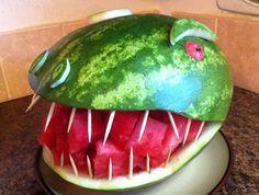 Professioneel knutselen met Watermeloen - FHM.nl