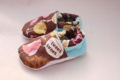 Baby girl shoes bird crib shoes tweet tweet infant by haddygrace, $18.00