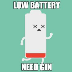 Low Battery: Need Gin Meme Gin Quotes, Gin Festival, Gin Lovers, What To Make, Making Memories, Drinking, Funny Memes, Alcohol, Cocktails
