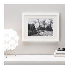RIBBA Frame, white white 30x40 cm