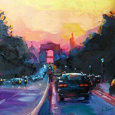 Jurij Frey: Straßen von Paris