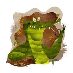 Gator Spot Illustration - Dave Mott - Designer, Illustrator