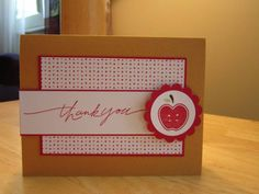 CAS Tarts by mfb - Cards and Paper Crafts at Splitcoaststampers