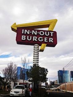 In n Out Burger My favorite burger.....bun is soft and buttery with a crispy edge, lettuce and onions are uber fresh, and the hamburger oh the hamburger.....mmmm-mmmmm...