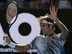 Federer punches ticket to Aussie Open 3rd round with straight-sets win | theScore.com