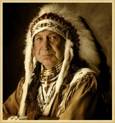 """""""Chief Antelope/Native American"""" by Edmund Lowe, Seattle, Washington // Chief Antelope of the Siletz tribe of Oregon came to my studio and I was lucky enough to be able to capture his warm and gentle personality.  // Imagekind.com -- Buy stunning, museum-quality fine art prints, framed prints, and canvas prints directly from independent working artists and photographers."""