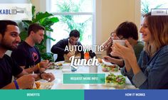 #Forkable helps you get lunch without hassle  #startups #food #foodtech