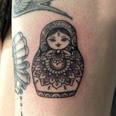 small russian doll tattoo - Google Search