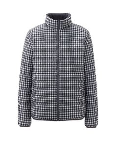 $69.90 would he look like a quilt? is that bad. MEN PREMIUM DOWN ULTRA LIGHT JACKET(CHECK) Uniqlo