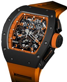 Richard Mille RM 011 Flyback Chronograph Orange Storm