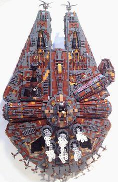 Lego Steampunk Millenium Falcon - Brilliant!