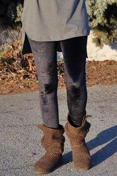Κολάν βελούδινο μαύρο Wedges, Boots, Fashion, Crotch Boots, Moda, La Mode, Heeled Boots, Wedge, Fasion