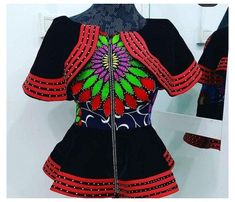 African Prom Dresses, Latest African Fashion Dresses, African Print Fashion, Ankara Blouse, Ankara Tops, Ankara Dress Designs, Blouse Designs, African Blouses, Classy Work Outfits