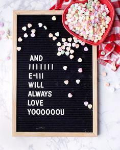 Letterboard quote. Love quote. Valentines quote. Food quote. Funny Letterboard quote. www.ohsodelicioso.com