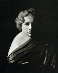 George Hurrell portrait. http://artdecoblog.tumblr.com/post/7308582287/george-hurrell-madge-evans-1932-on-flickr