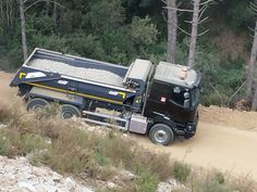 Renault Trucks K // Construction days 2013 // The event to discover our construction range in a quarry near Barcelona, Spain. November 2013