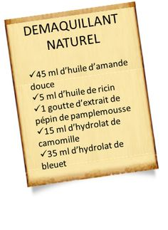 recette de démaquillant naturel Make Beauty, Natural Beauty Tips, Organic Beauty, Homemade Acne Treatment, Facial Care, Beauty Recipe, Homemade Beauty, Beauty Routines, Natural Health