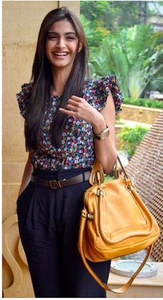 what a cute outfit on sonam kapoor. her ability to fuse indian and western  designs so effortlessly. b5d8cc1e28726