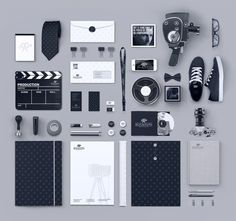 Blickfang Media / Ramin Nasibov | #stationary #corporate #design #corporatedesign #identity #branding #marketing < repinned by www.BlickeDeeler.de | Take a look at www.LogoGestaltung-Hamburg.de