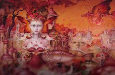 Destacado. Pintura y talento de Daniel Merriam  Leer más: http://www.colectivobicicleta.com/2015/12/pintura-de-daniel-merriam.html