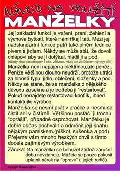 návod na použití manželky - Hledat Googlem Wedding Newspaper, Wedding Scrapbook, Blue Wedding, Jokes, Clip Art, Humor, Blog, Gifts, Weddings