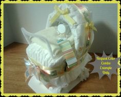 How To Make A Diaper Baby Carriage Step By Pictures 3