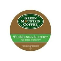 Green Mountain Fair Trade Wild Mountain Blueberry Flavored Coffee 2 Boxes of 24 KCups ** To view further for this item, visit the image link.