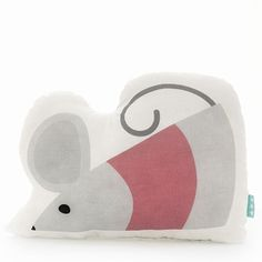 Cuscino Guanciale Mouse - 40 x 30 cm @ my-store. Mr Fox, Disney Crafts, Dolls, Fictional Characters, Cotton, Baby Dolls, Puppet, Doll, Fantasy Characters