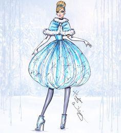 Disney Divas 'Holiday' collection by Hayden Williams: Cinderella