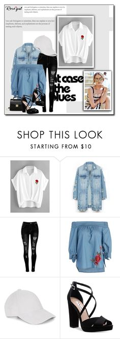 """""""Rosegal"""" by nahidunkic ❤ liked on Polyvore featuring LE3NO and Nina"""