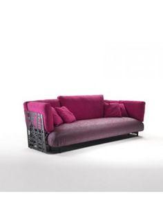 Sofa Fabric Meritalia Minosse Design Marc Sadler