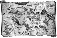 """Das Niemandsland - Quelle der Phantasie  aus """"Niemand"""" von Nicole Rensmann / Illustrationen: Timo Kümmel / Atlantis Verlag 2012"""