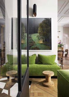 Green velvet and dramatic art                                                                                                                                                                                 More