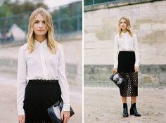 Vanessa Jackman: Paris Fashion Week SS 2014....Maria
