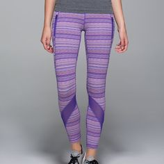 Lululemon Inspire Tights - Space Dye Twist! These lulu pants are absolutely stunning! Sold out online. I'm just looking to size up. Will add more photos soon. Like new condition! 7/8 length. Luxtreme & mesh. Will do much lower on the męrcari app or pal. I am looking to net $70 to purchase my proper size. lululemon athletica Pants Leggings